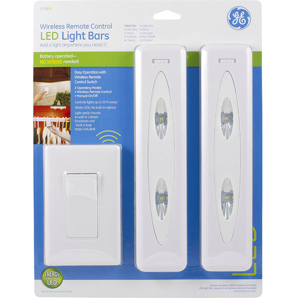 Ge 17528 Battery Operated Wireless Remote Control Led