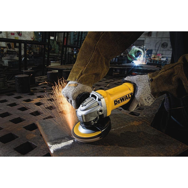 DeWalt® DWE402 Small Angle Grinder with 3-Powerful Systems, 4-1/2""