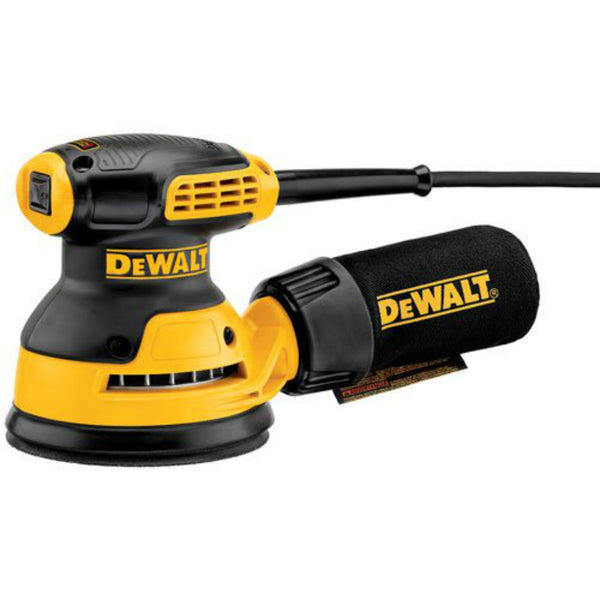 DeWalt® DWE6421 Single Speed Random Orbit Sander with H&P Pad, 3 Amp Motor, 5""