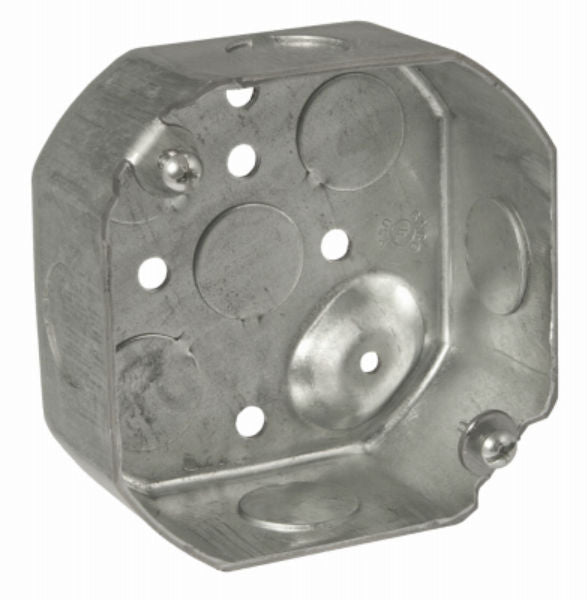 "RACO® 8125PRO Metallic Octagon Box, 4"", 30-Pack"
