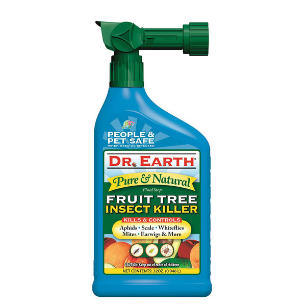 Dr. Earth® 8009 Final Stop® Fruit Tree Insect Killer Spray, 32 Oz