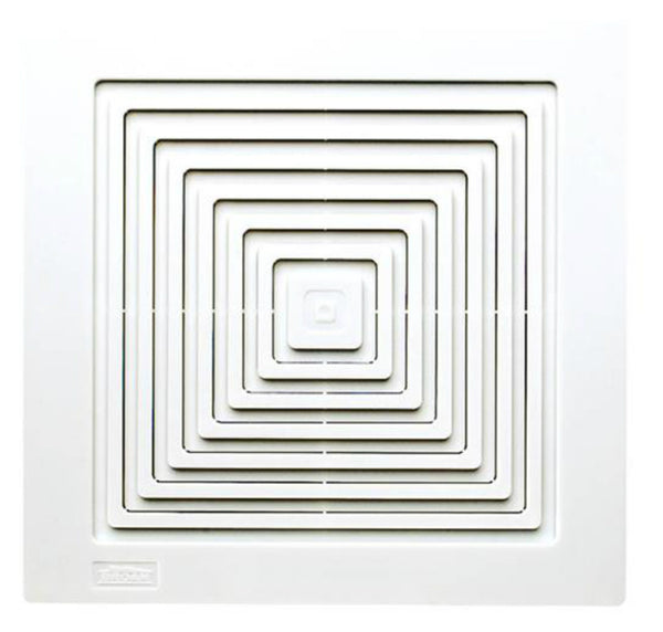 "Broan® BP90 Replacement Grille for Bath & Ventilation Fan, White, 9"" x 9-1/4"""