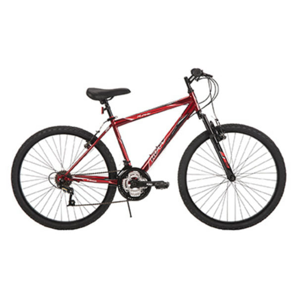 Huffy® 26327 Alpine™ Mens Mountain Bike w/ 18-Speed Gears, Metallic Crimson, 26""