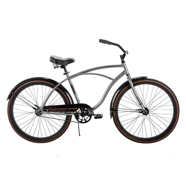 Huffy® 26627 Good Vibrations™ Men's Cruiser Bike, Powder Chrome, 26""