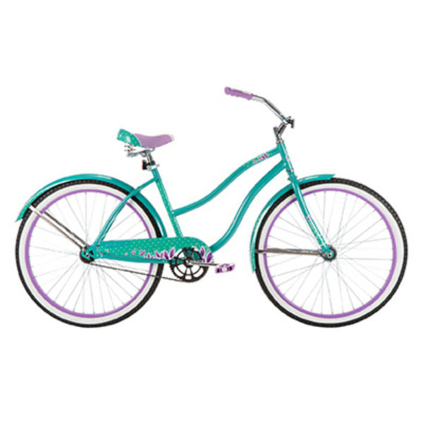 Huffy® 26637 Good Vibrations™ Ladies Cruiser Bike, Pearl Mint Green, 26""