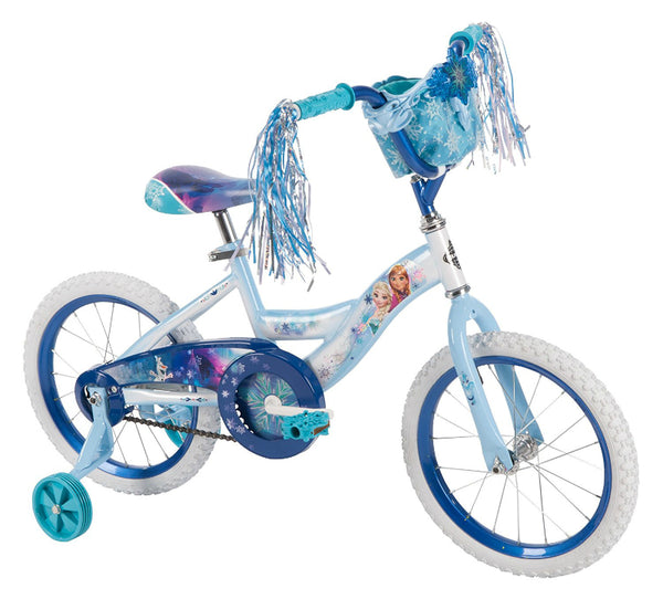 Huffy® 21397 Disney Frozen Girl's Bike, Blue & Purple, 16""