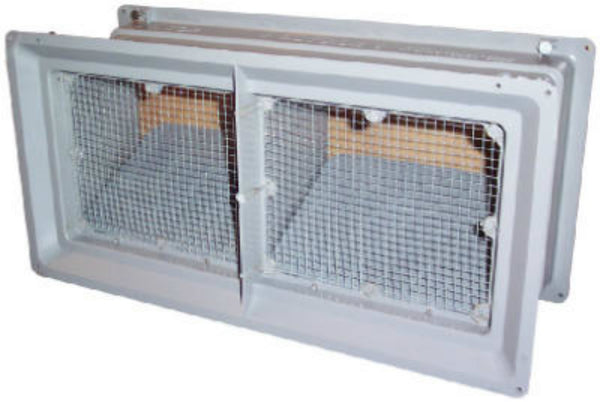 Constrcution Metals 559029 Plastic Foundation Vent with Damper, 8""