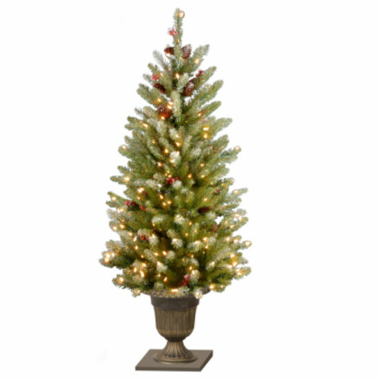 National Tree DUF3-320-40 Dunhill Fir Artificial Entrance Tree, 4'