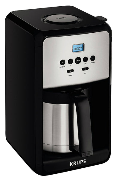 Krups® ET351050 Savoy Programmable Coffee Maker with Thermal Carafe, 12 Cup