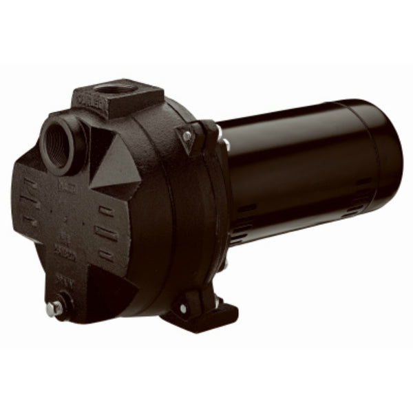 "Master Plumber MP100A Cast Iron Sprinkler Pump w/ 1-1/2"" Suction Discharge, 1 HP"