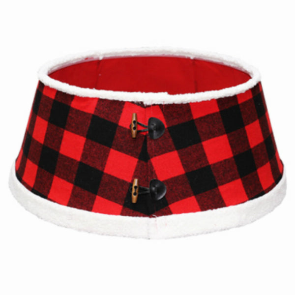 "Dyno Seasonal 2266203-1 Buffalo Check Christmas Tree Stand Band, 11"" x 26"""