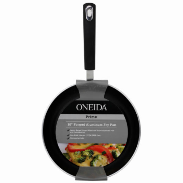 Oneida® 35381 Forged Aluminum Non-Stick Induction Fry Pan, Black, 10""