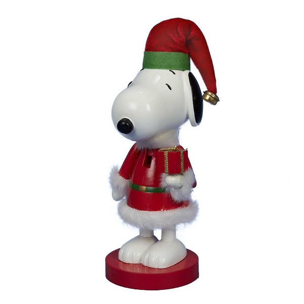 Kurt Adler® PN6151 Snoopy In Red Santa Suit Nutcracker, 10""