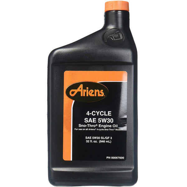Ariens 707068 4-Cycle SAE 5W30 Snow-Thro Engine Oil# 00067600, 32 Oz