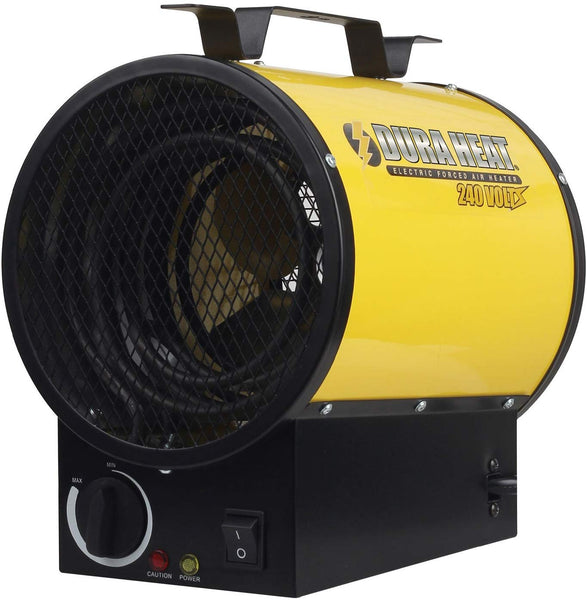 Dura Heat EUH4000 Electric Forced Air Workspace Heater, 4000W, 240V, 14000 BTU
