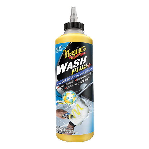Meguiar's® G25024  Wash Plus+ Liquid Car Wash, Concentrated, 24 Oz