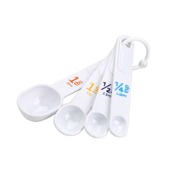 Good Cook® 19865 Plastic Measuring Spoons, 4-Piece