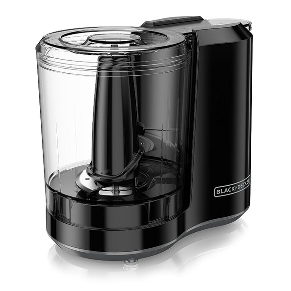Black & Decker® HC300B FreshPrep One-Touch 3 Cup Capacity Chopper, Black, 175W