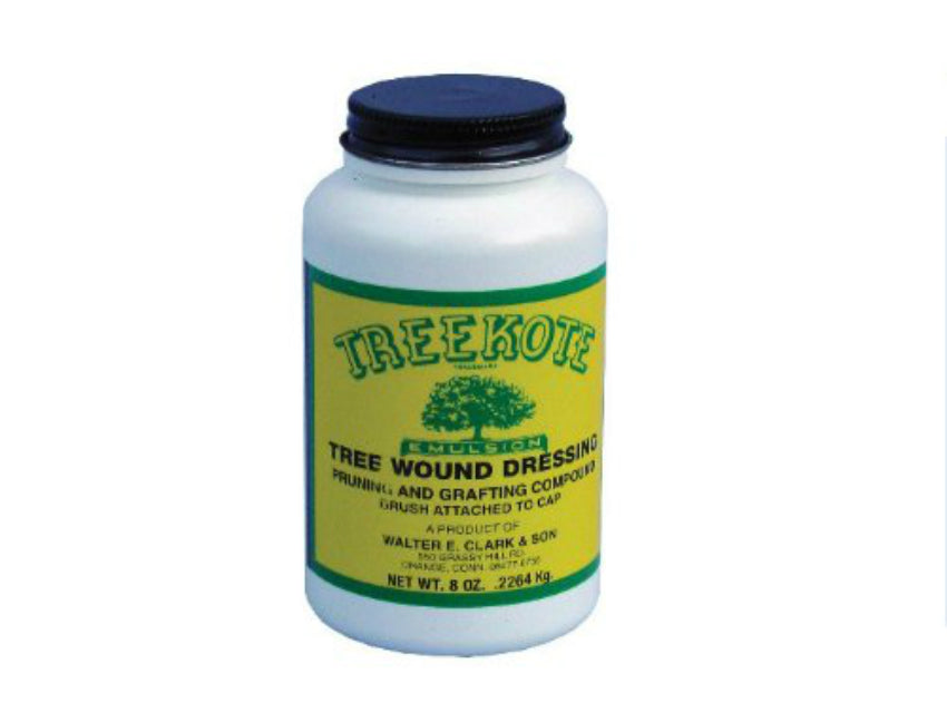 Treekote 300008 Emulsion Pruning/Grafting Compound Wound Dressing w/ Brush, 8 Oz