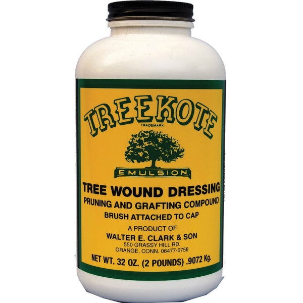 Treekote 300032 Emulsion Pruning/Grafting Compound Wound Dressing w/Brush, 32 Oz