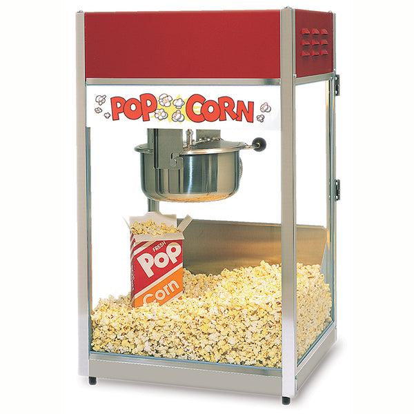 Gold Medal® 2656 Ultra 60 Special Popcorn Machine w/ Heated Corn Deck, 120V