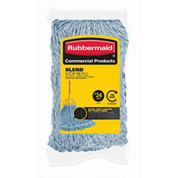Rubbermaid® FGD21528BL00 Blended Mop Refill, #24