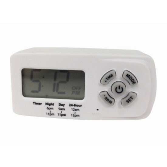 Woods® 50043 Indoor Preset Digital Timer, 24 Hour