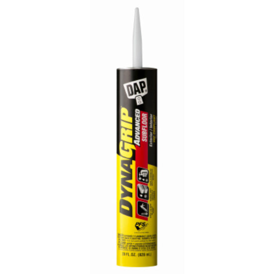 DAP® 27042 DynaGrip® Advanced Subfloor Construction Adhesive, Light Tan, 28 Oz