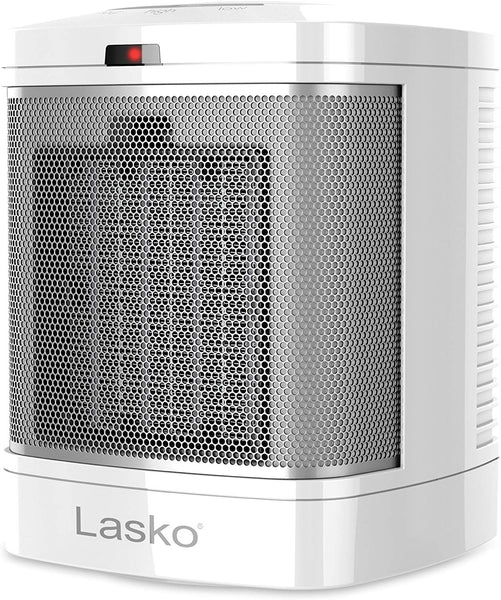 Lasko CD08200 Simple Touch Ceramic Bathroom Heater w/2-Steady On Settings, 1500W