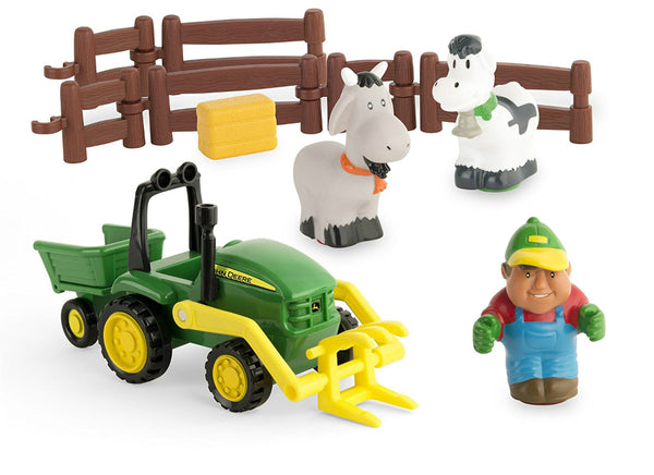 John Deere® 43068 First Farming Fun Load Up Play Toy Set, 12-Piece