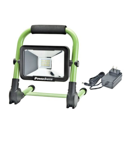 PowerSmith™ PWLR1110F Compact Foldable Rechargeable LED Work Light, 900 lm, 10W