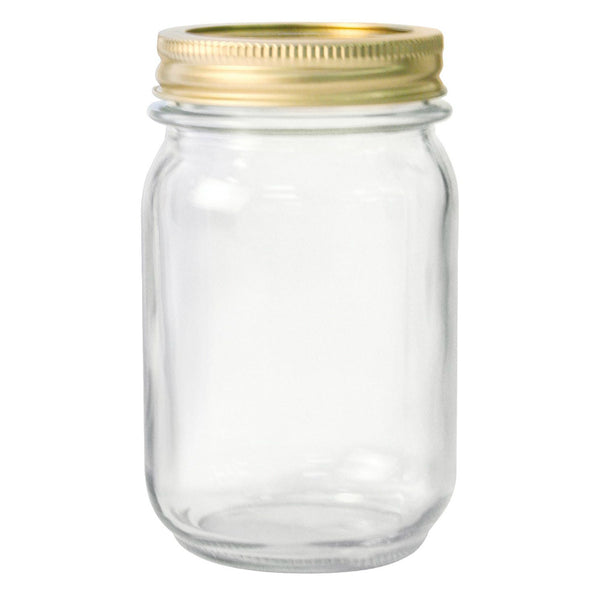 Anchor Hocking® 10985 Home Canning Jars, 1 Pt, 12-Pack