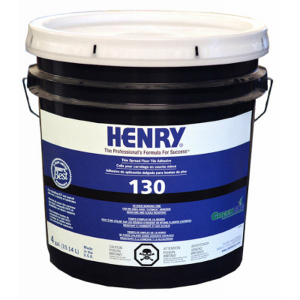 Henry® 11983 Professional 130 Thin Spread Floor Tile Adhesive, 4 Gallon