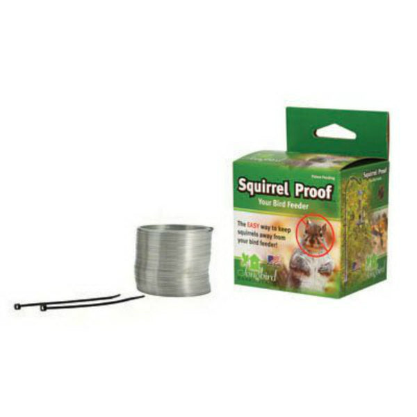 Songbird Essentials SEMKSP1 Squirrel Proof Spring Device, Expand Upto 48""