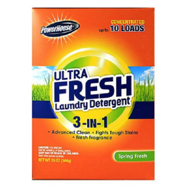 PowerHouse® 92939-5 Ultra Fresh 3-In-1 Laundry Detergent, Spring Fresh, 10-Loads