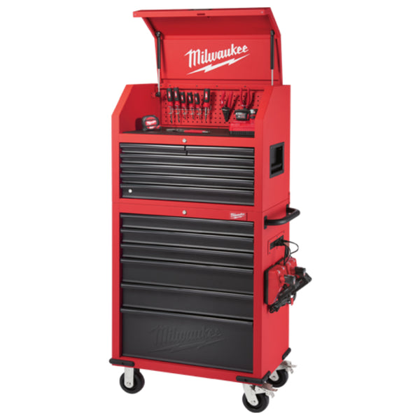 Milwaukee® 48-22-8530 Steel Chest & Cabinet Combo, 30""