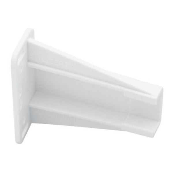 Liberty Hardware D688SEC-W-TX Face-Frame Socket for Bottom Mount Slides, White