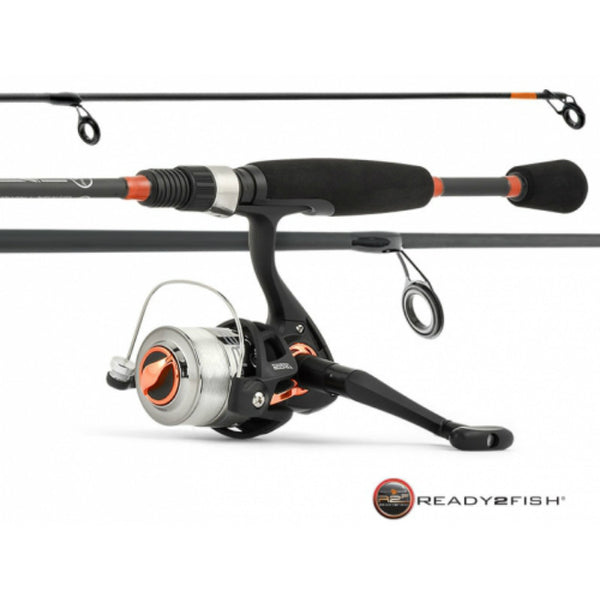 "Ready 2 Fish® R2F3-AL/S Multispecies Spin Combo with 5' 6"" Rod"