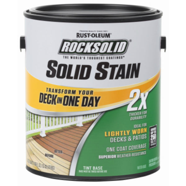 Rust-Oleum® 305799 RockSolid® 2x Solid Stain, Adobe, 1 Gallon