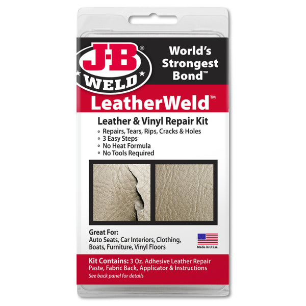 J-B Weld® 2130 LeatherWeld™ Leather & Vinyl Repair Kit