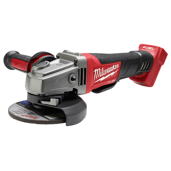 "Milwaukee® 2780-20 M18 Fuel™ Grinder with No-Lock Paddle Switch, 4-1/2"" / 5"""