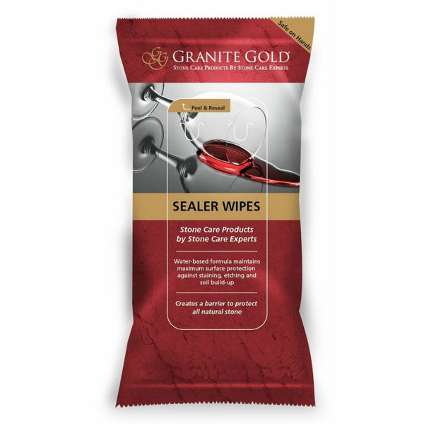 Granite Gold® GG0056 Non-Toxic Sealer Wipes®, 6 Pack