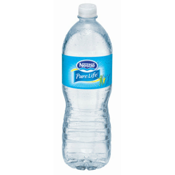 Nestle® Pure Life® 12222135 Bottled Drinking Water, 1 Liter