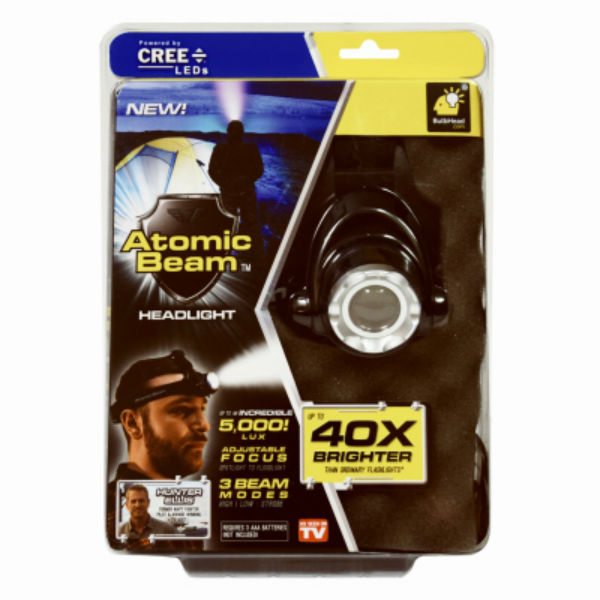 Atomic Beam 11474-6 Portable Ultra-Bright Tactical Headlight, As Seen On TV