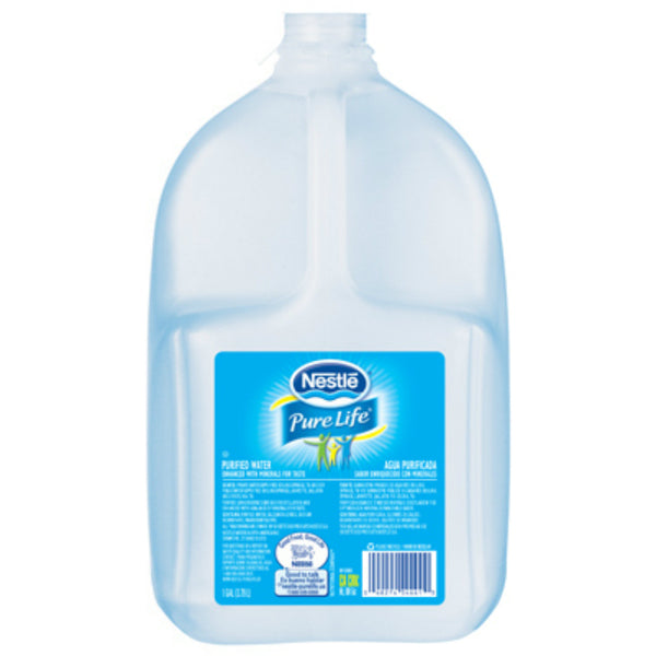 Nestle® Pure Life® 114763670 Zero Calories Purified Water, 1 Gallon
