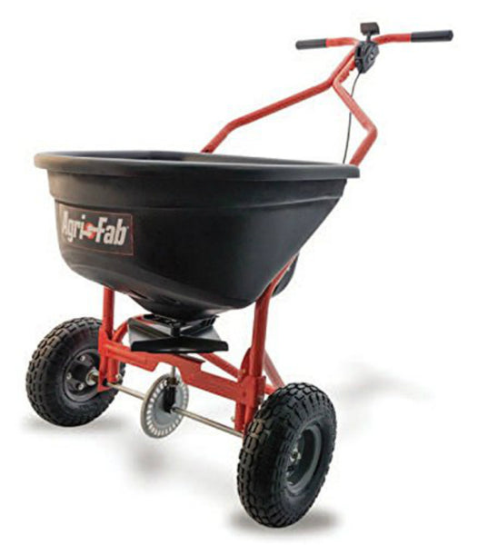 Agri-Fab® 45-526 Push Spreader with Pneumatic Tires, 100 lbs Capacity