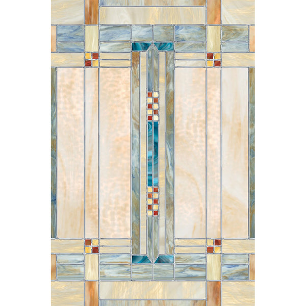 "Artscape® 01-0152 Artisan Decorative Glass Window Film, 24"" x 36"""