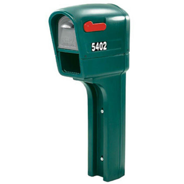 Step2® 540200 MailMaster® Plus Mailbox™ with Newspaper Compartment, Green