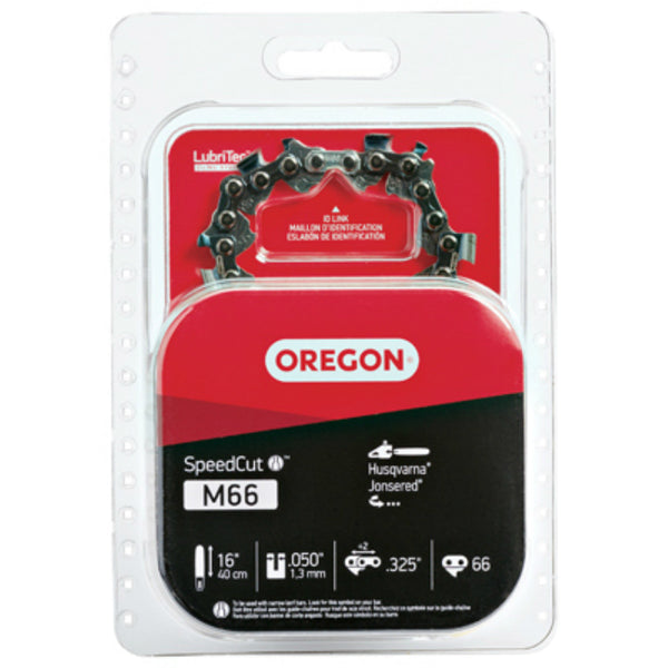Oregon® M66 SpeedCut Replacement Saw Chain, 95TXL, 16""