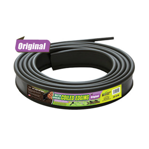 "Master Mark™ 23920 Master Gardener® Original Coiled Edging, Black, 3-1/2"" x 20'"